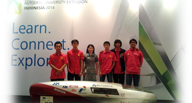 Tim UI-SMV jadi pembicara di acara Autodesk University Extension