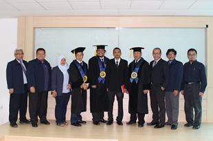 Promosi Doktor Muhammad Amin