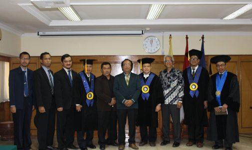 Promosi Doktor Hakam Muzaki